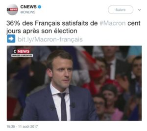 macron plus impopulaire que trump