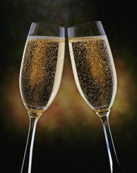 A Champagne Cheers