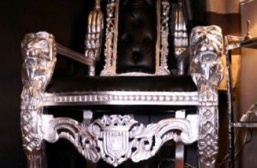 Madame Caramel's throne