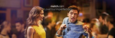 match.com Love Your Imperfections advert