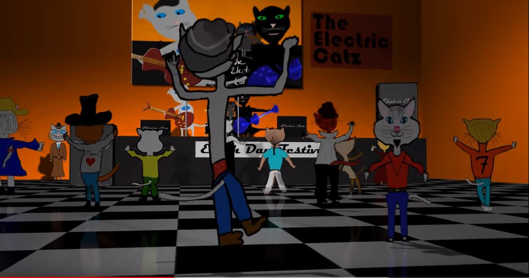 Two Little Cats by James Purdie. Music video.