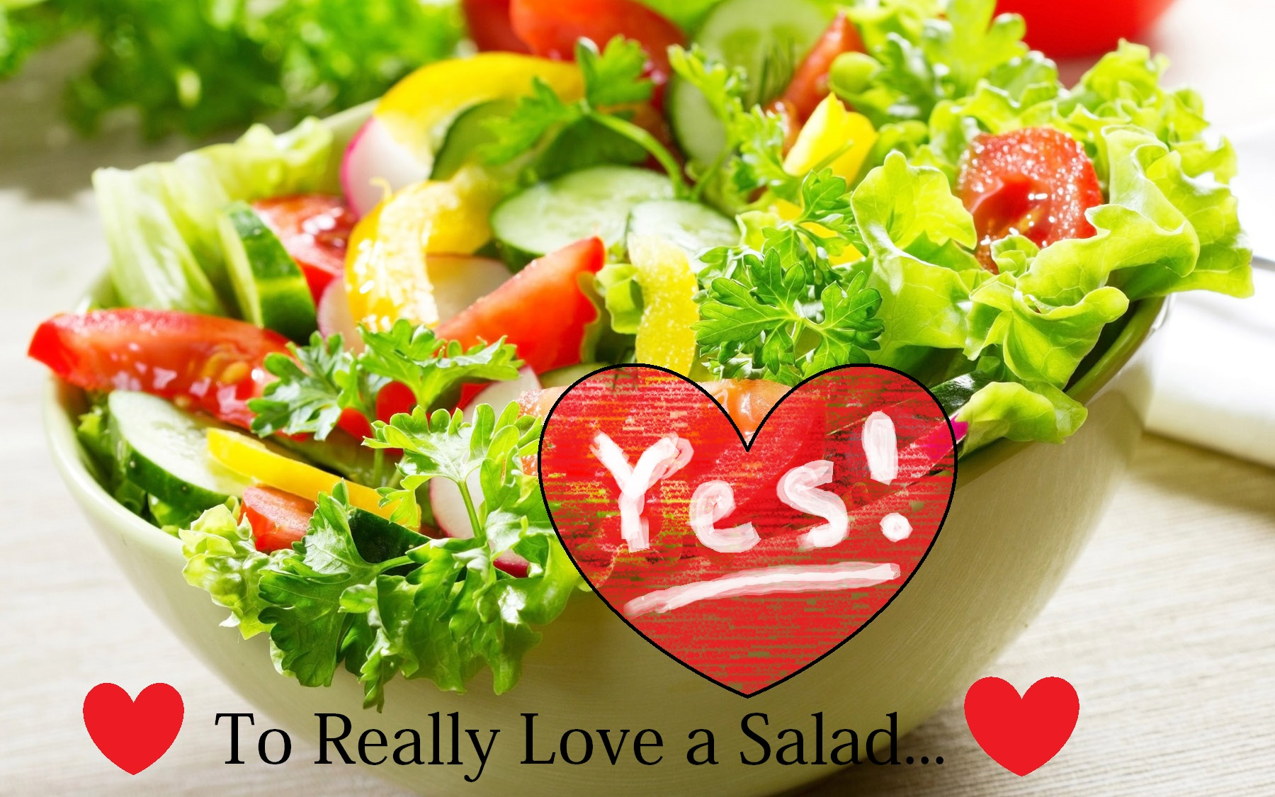 No Calorie salad dressing
