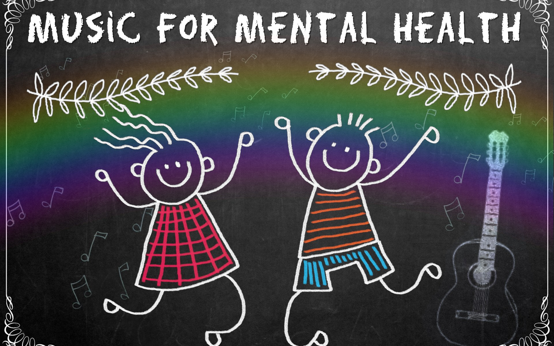 Music Therapy is great for Mental Health.