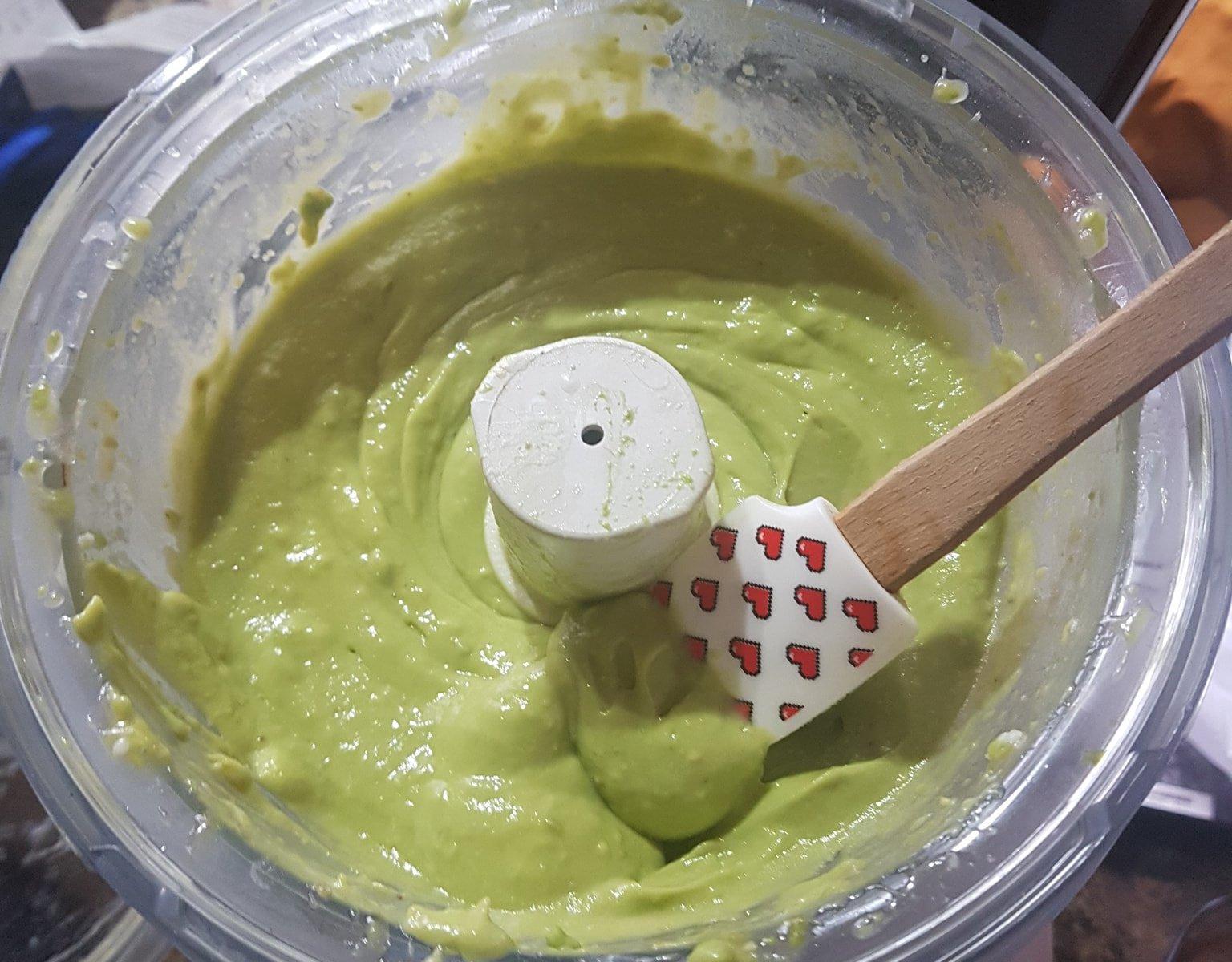 Avocado Lime Pudding