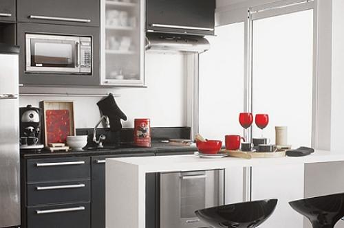 Como planejar os seus armrios de cozinha pela internet
