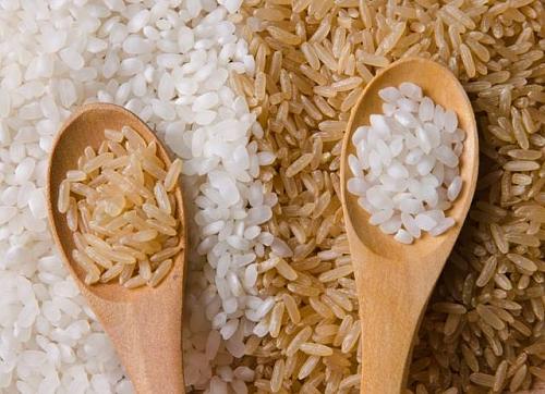 Resultado de imagem para arroz integral x arroz branco