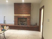 Stone/Brick Veneer Fireplaces - Bond Masonry Ltd.