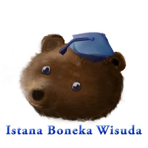 beruang istana boneka wisuda