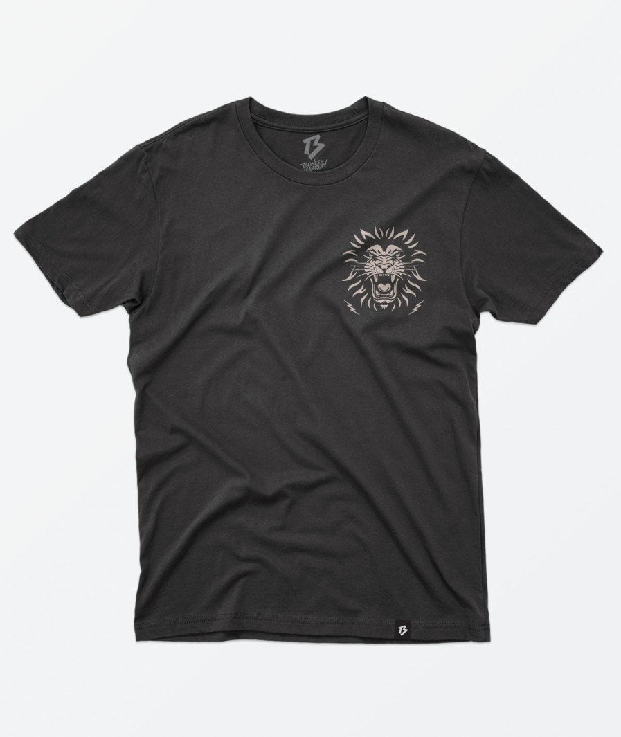 Bones and marrow black shirt front