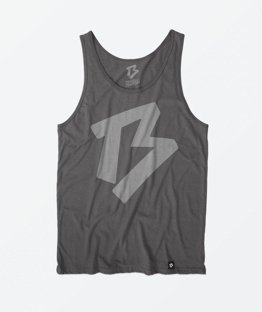 Bones and marrow charcoal vest
