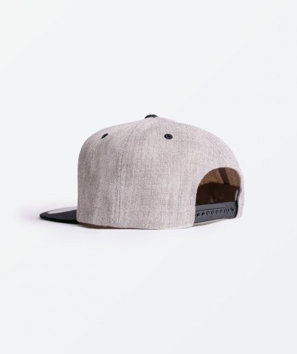 Bones and Marrow Flat Peak Cap back