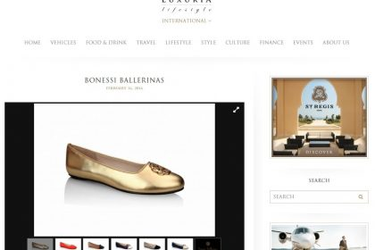 Bonessi featured in Luxuria Lifestyle
