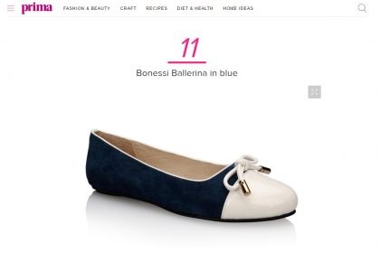 Prima Magazine selects Bonessi as a must have shoes for summer