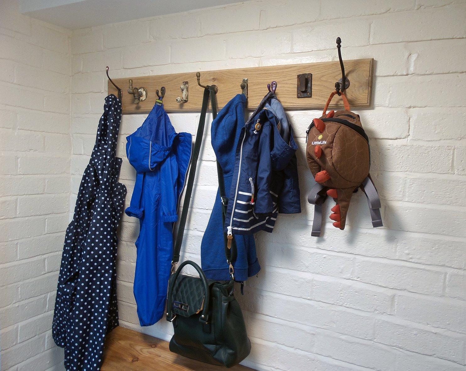 Unique Rustic Coat Rack (Making Furniture!)