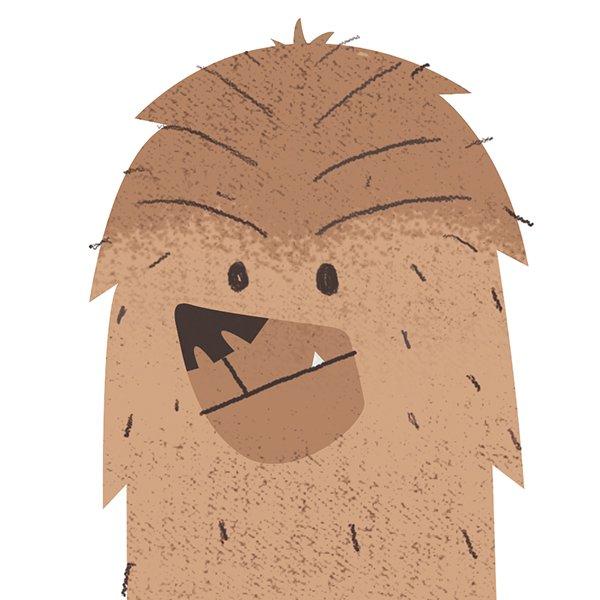 Alpaca Chewbacca