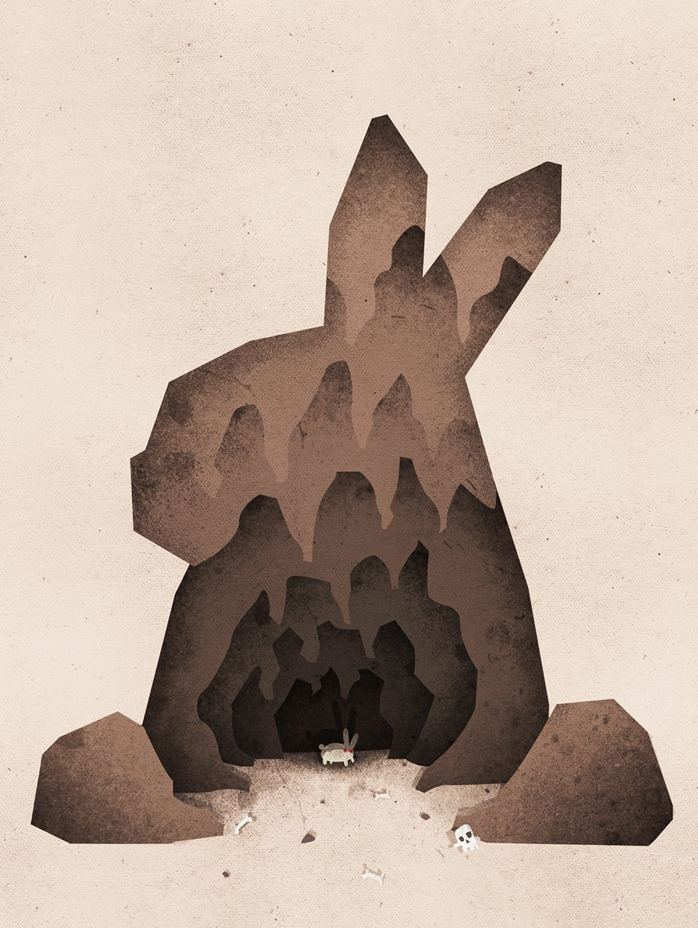A Monty Python Inspired Rabbit of Caerbannog