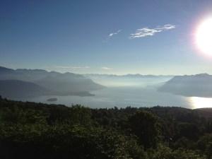Lago Maggiore visto da Gignese
