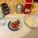 ingredienti pane pancetta gruviera