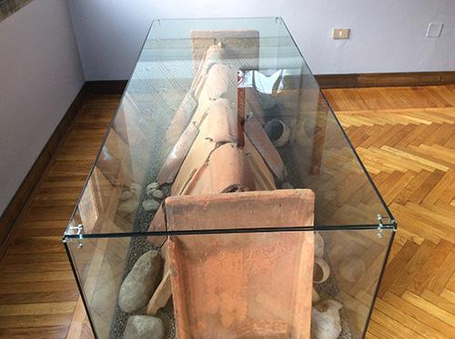 Museo civico Guido Sutermeister di Legnano - sepoltura