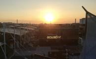 Expo 2015 vista tramonto