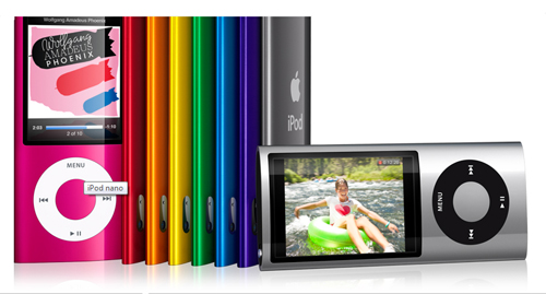 Apple Introduces New iPod nano With Built-in Video Camera