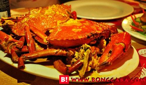 Crab in coconut milk (chilli crab)