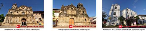 LAGUNA CHURCHES
