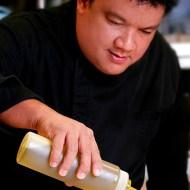 Chef Robby Goco of Cyma at the Maya Kitchen this September