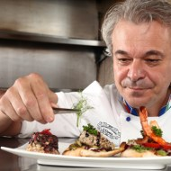 Chef Luciano Paolo Nesi of L'Opera at The Maya Kitchen