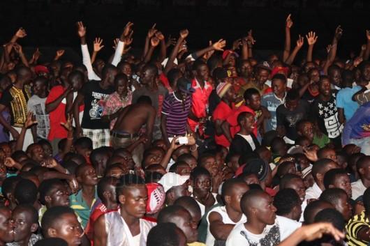 Shangwe za mashabiki wa Mwanza