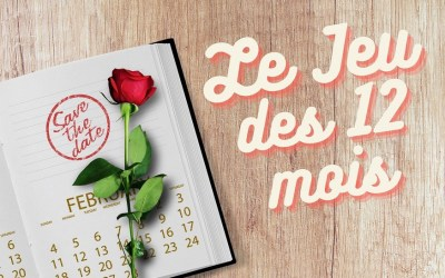 Le Jeu des 12 Mois pour un Mariage : Règles, Objets et Gages !