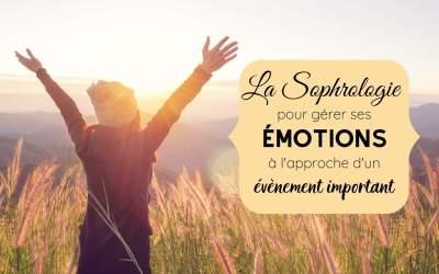 La Sophrologie pour gérer le stress à l'approche d'un évènement important : Interview de Pauline Cathalau