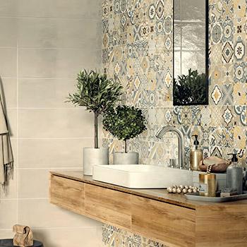 carrelage mur douche italienne