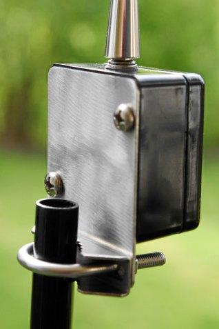Boni-Whip Kurzwellenantenne mit optionaler Halterung