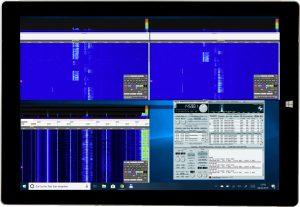 KiwiSDR: receptor SDR 0-30 MHz con interfaz web, Surface, Pro3