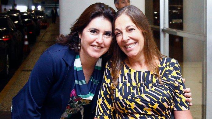 Mara Gabrili e Simone Tebet