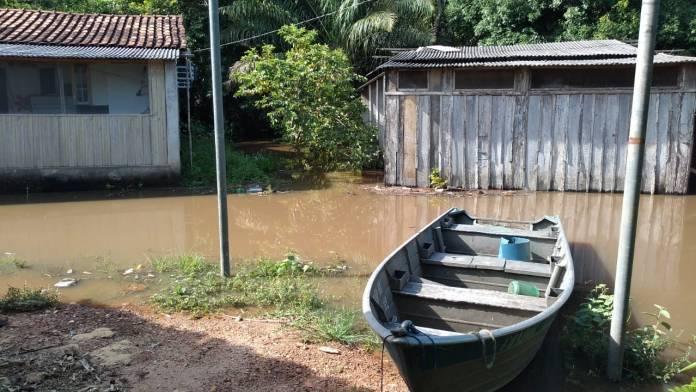 Rio Miranda enchendo