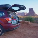 Suv Camper Conversion With Sleeping Platform Subaru Forester Bonjour Becky