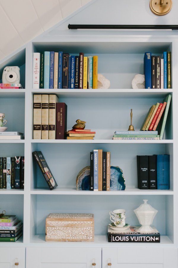 Diy Library Wall With Home Depot - Bonjour Bliss