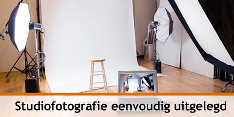 Studiofotografie eenvoudig uitgelegd