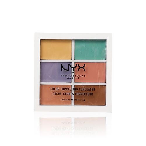 NYX 六色遮瑕盤 6x1.5g - 香港卓悅化粧品官方網上商店