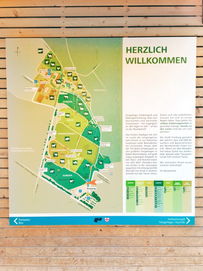 Mundenhof Animal Park Freiburg Germany Map Petting Zoo