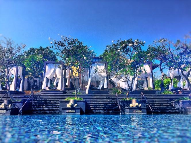 St. Regis Bali pool cabana