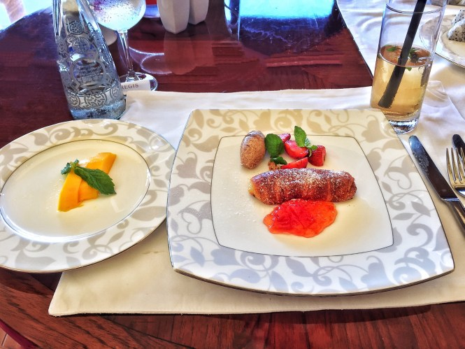 St.Regis Bali Breakfast