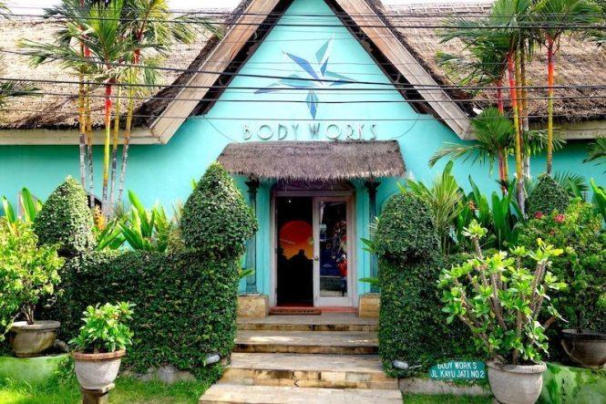 Bodyworks Bali entrance
