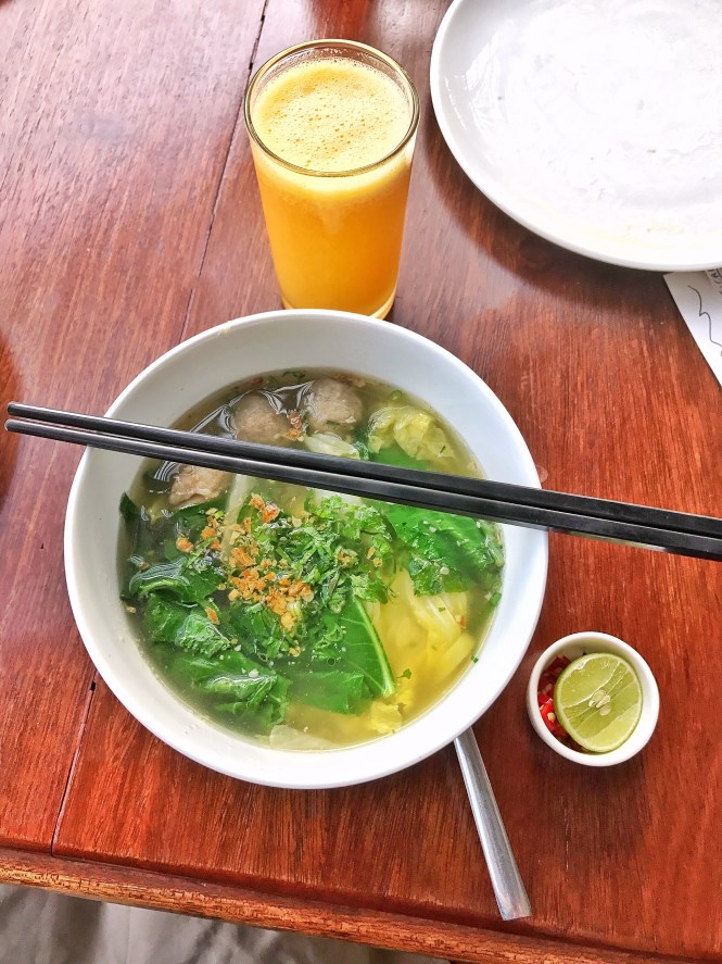 Noodle Soup Viroth's Hotel Siem Reap Cambodia