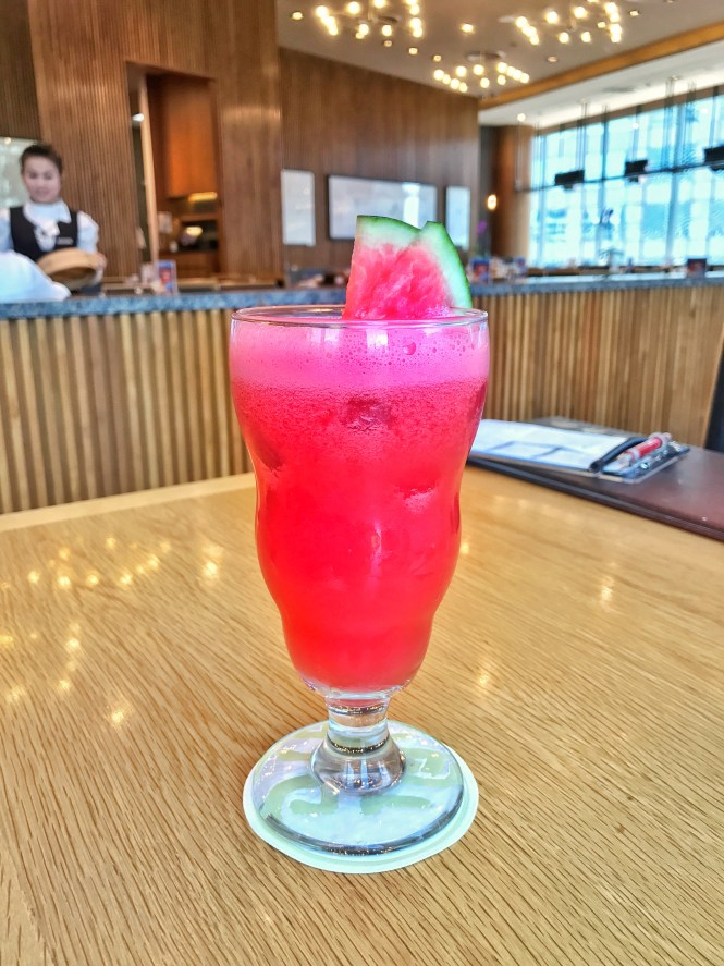 Central embassy mall din tai fung watermelon juice