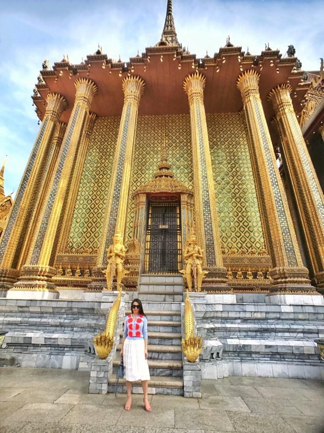 Wat Phra Kaew Temple of the Emerald Buddha Bangkok