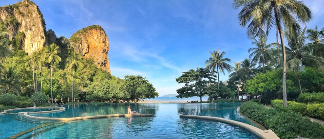 rayavadee pool railay beach thailand