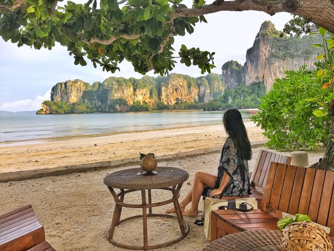 Railatay Terrace Rayavadee Krabi Thailand